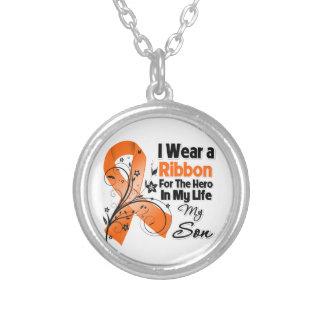 Son Hero in My Life Leukemia Custom Jewelry