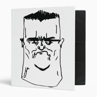 Son I am Disappoint Comic Face 3 Ring Binder