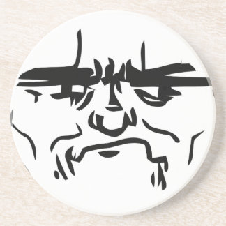 Son I am Disappoint Comic Face Drink Coaster
