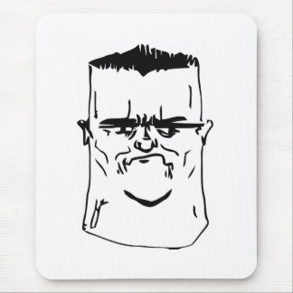 Son I am Disappoint Comic Face Mouse Pad