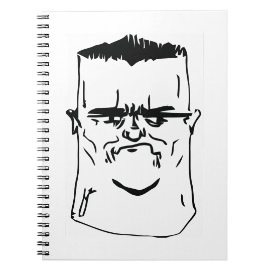 Son I am Disappoint Comic Face Notebook
