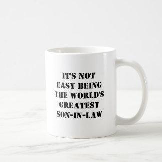 Son-In-Law Classic White Coffee Mug