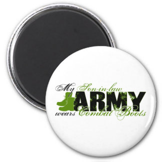 Son-in-law Combat Boots - ARMY Magnet