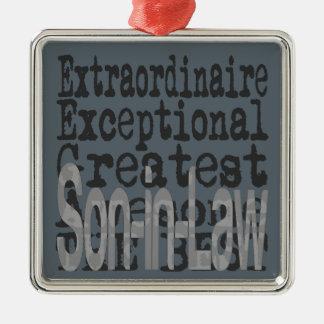 Son In Law Extraordinaire Metal Ornament