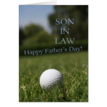 son in law Happy Father's Day Card