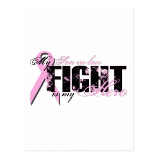 Son-in-law Hero - Fight Breast Cancer Postcard
