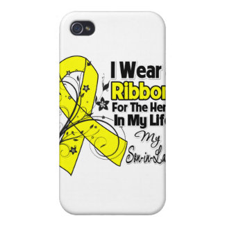 Son-in-Law Hero in My Life Sarcoma Awareness iPhone 4 Case