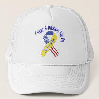 Son-in-Law - I Wear A Ribbon Military Patriotic Trucker Hat