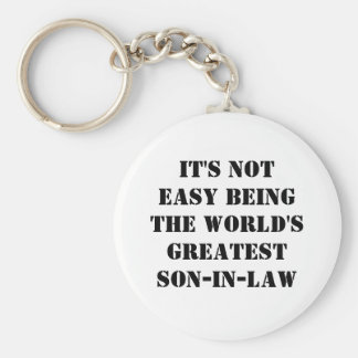 Son-In-Law Keychain