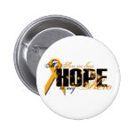 Son-in-law My Hero - Leukemia Hope Button