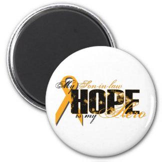 Son-in-law My Hero - Leukemia Hope Magnet