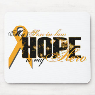 Son-in-law My Hero - Leukemia Hope Mouse Mats