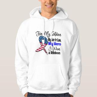 Son-in-Law - My Soldier, My Hero Patriotic Ribbon Hoodie