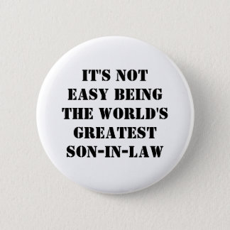 Son-In-Law Pinback Button