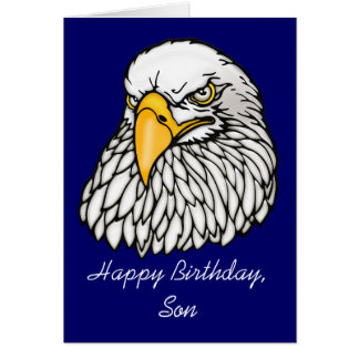 Son in the troops Birthday Card