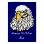Son in the troops Birthday Greeting Card