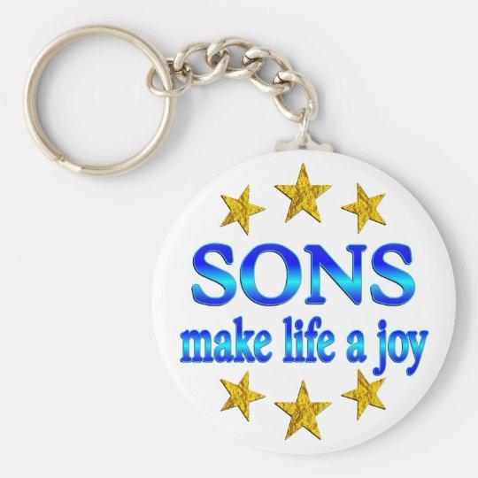 Son Joy Keychain