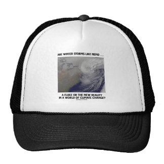 ¿Son las tormentas del invierno como la platija de Gorros Bordados