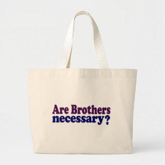 Son los hermanos necesarios bolsa de mano