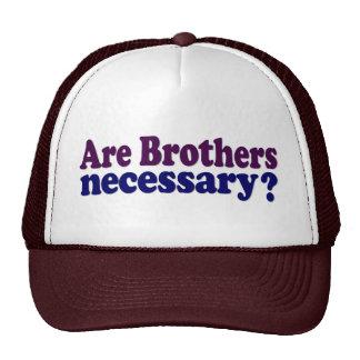 Son los hermanos necesarios gorro de camionero