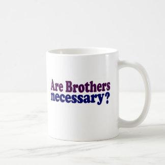 Son los hermanos necesarios tazas