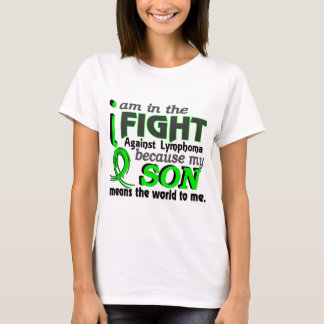 Son Means The World To Me Lymphoma T-Shirt