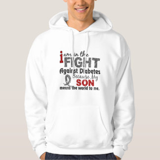 Son Means World To Me Diabetes Hoodie