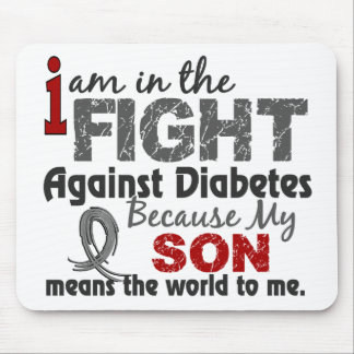 Son Means World To Me Diabetes Mouse Pad