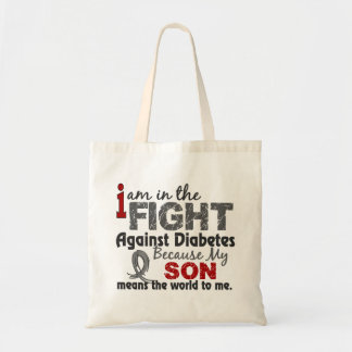 Son Means World To Me Diabetes Tote Bag
