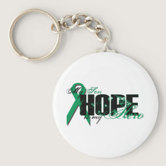 Son My Hero - Kidney Cancer Hope Keychain