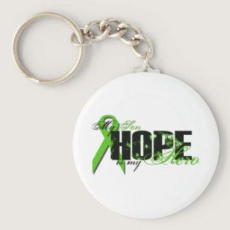 Son My Hero - Lymphoma Hope Keychain
