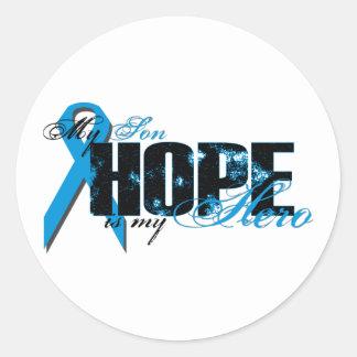 Son My Hero - Prostate Hope Classic Round Sticker