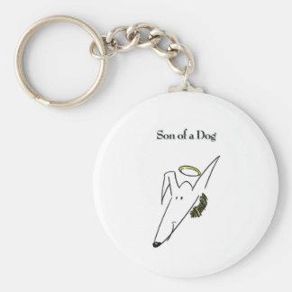 Son of a Dog Gear Keychain