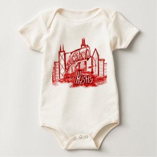 son of a hustla....graphics baby bodysuit