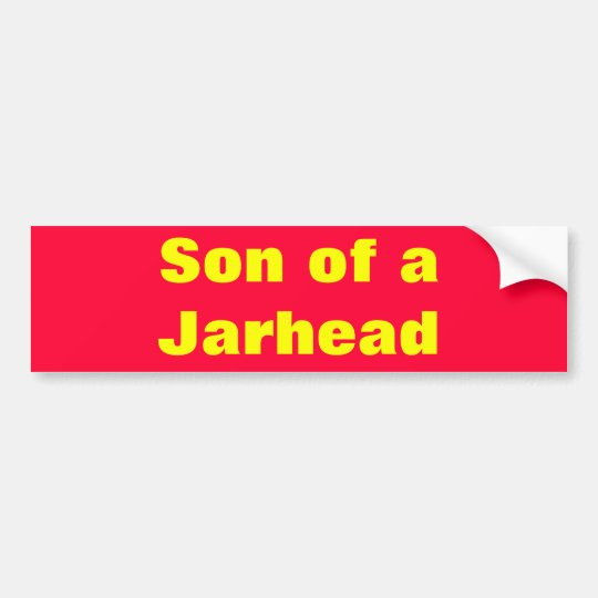 Son of a Marine Bumper Sticker