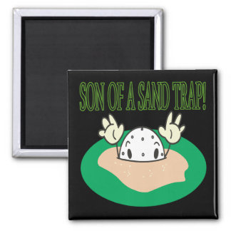 Son Of A Sand Trap 2 Inch Square Magnet
