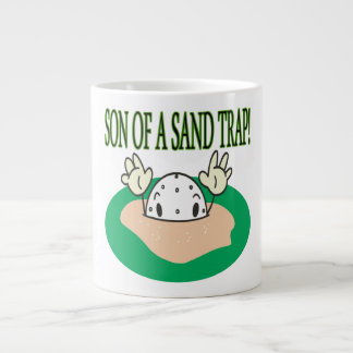 Son Of A Sand Trap Large Coffee Mug
