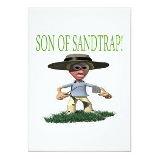 Son Of A Sandtrap Personalized Invitations