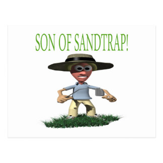 Son Of A Sandtrap Postcard