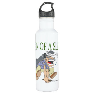 Son Of A Slice Stainless Steel Water Bottle