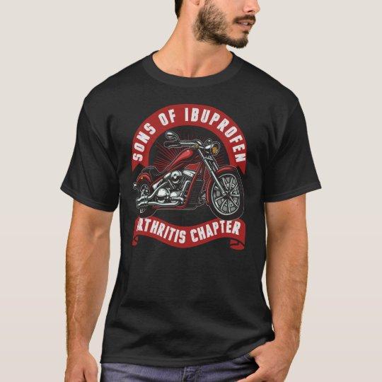 676e9e8e son of arthritis ibuprofen chapter t shirt | Zazzle.com