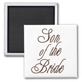 Son of Bride Classy Browns Magnet