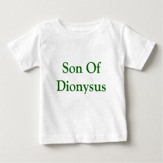 Son of Dionysus baby shirt