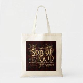 Son of God, Romans 8:14 Christian Budget Tote Bag