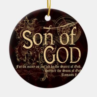 Son of God, Romans 8:14 Christian Christmas Ornament