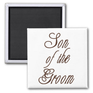 Son of Groom Classy Browns Magnet