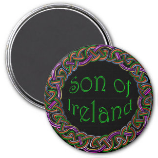 Son of Ireland Patriotic Celtic Wreath Magnet