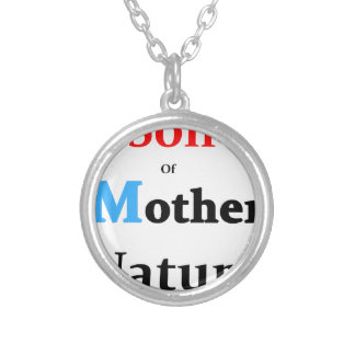 Son Of Mother Nature Silver Plated Necklace