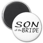 Son Of The Bride Fridge Magnets