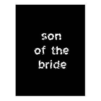 Son of the Bride Postcard